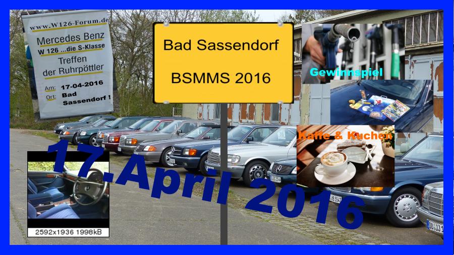 Treffen auf derMercedes Benz Motor Show Bad Sassendorf 2016