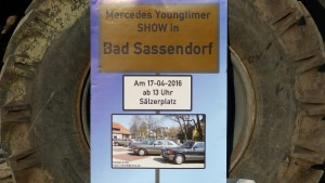 Mercedes Youngtreffen in Bad Sassendorf 2016 Olakat an UNIMOG 404