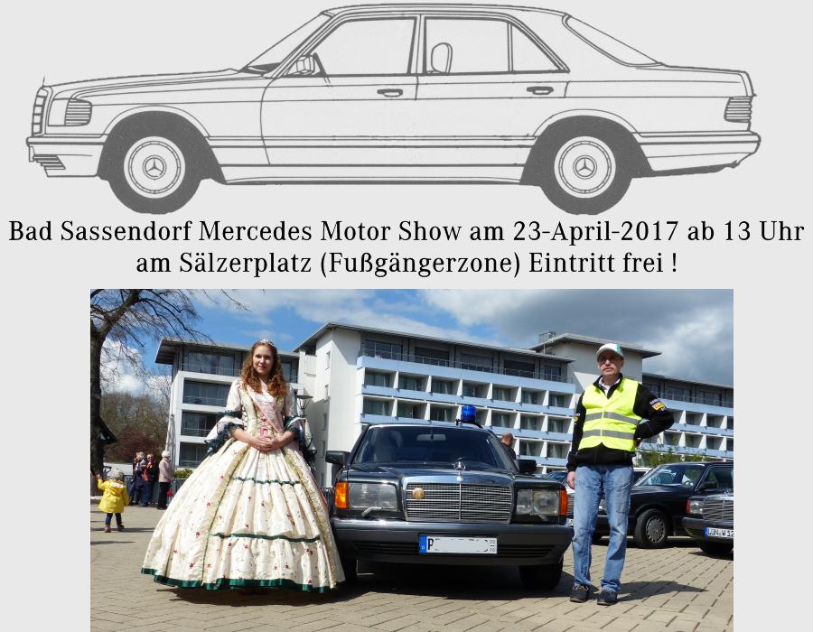 Bad Sassendorf Mercedes Motor Show 2017